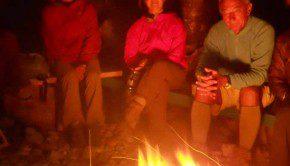 bivacco al fuoco